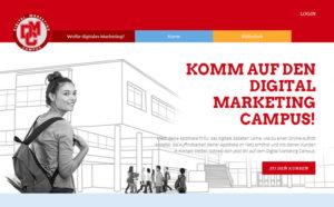 Digital Marketing Campus: Screenshot